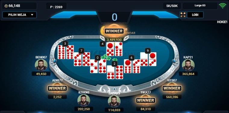 ceme online game